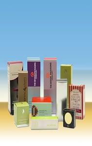 Customized Mascara boxes