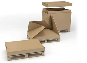Types of Assembly of Corrugated Cardboard Packaging Products