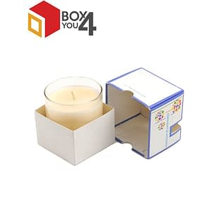 Candle Box Packaging of different sizes and Brand labeling