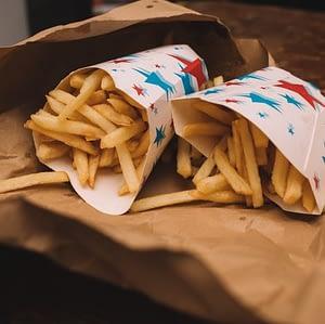 cardboard food packaging box